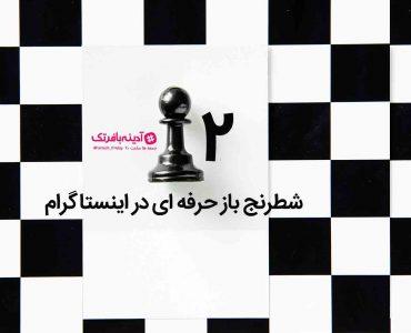 شطرنج باز حرفه ای در اینستاگرام ۲