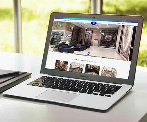طراحی فروشگاه آنلاین فرش توس مشهد