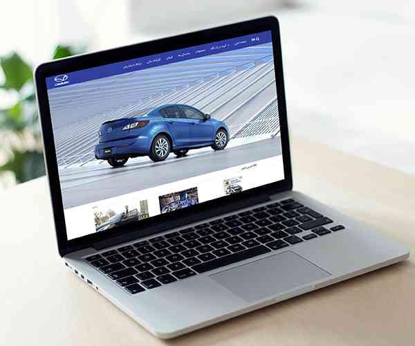 طراحی سایت شرکت گروه بهمن