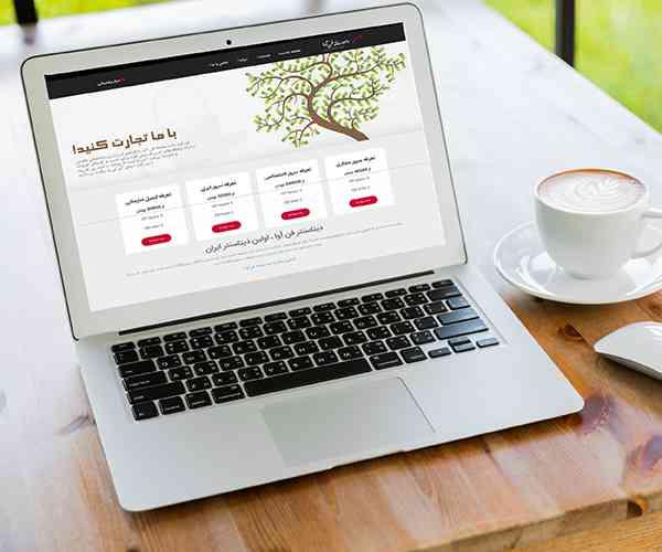 طراحی سایت داده سامانه فن آوا
